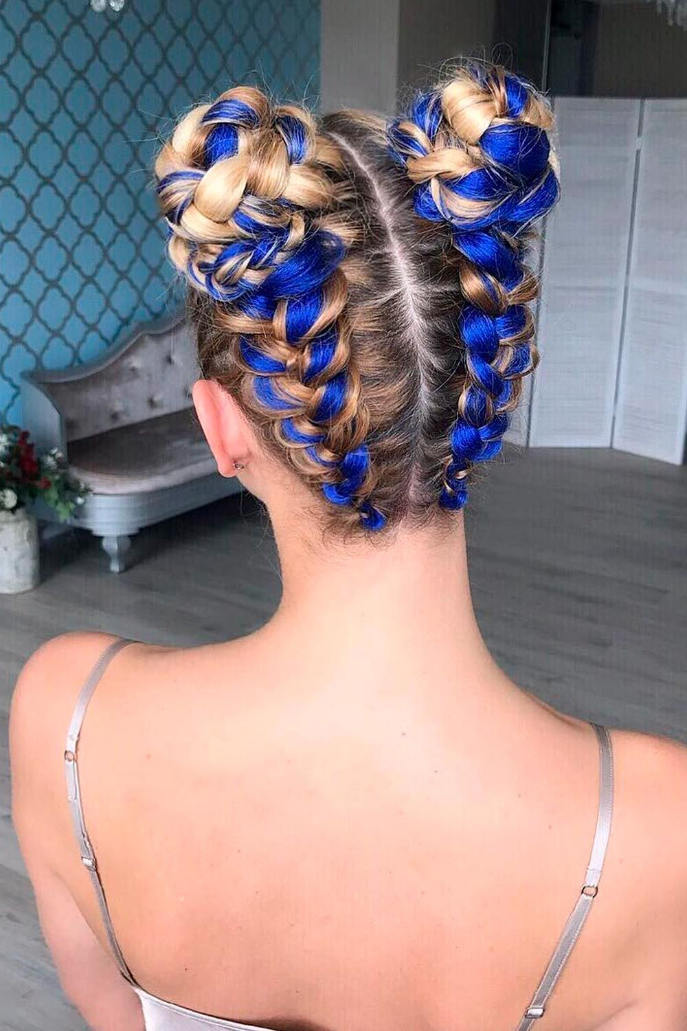 Combo Double Dutch Braids Hairstyles, how to do a dutch side braid, double dutch french braid, how to dutch fishtail braid