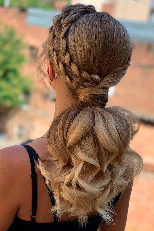Ponytail With Dutch Braid, dutch lace braid, how to dutch braid your own hair, how to do a dutch braid