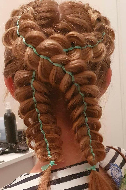 Combo Double Dutch Braids Hairstyles, dutch french braid, dutch hair braid, dutch black braid hair