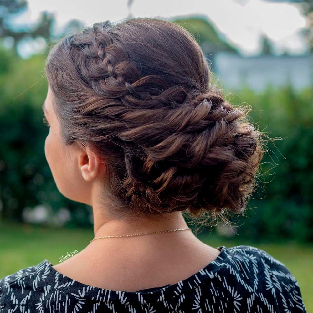 For A Day At The Office, front braid headband, easy braid headband, braided headband updo, updos with headbands