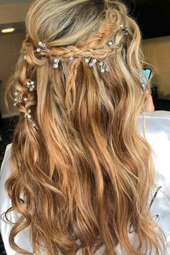 Simple Yet Gorgeous, double braided headbands, braid headband hairstyles, braid hair headband