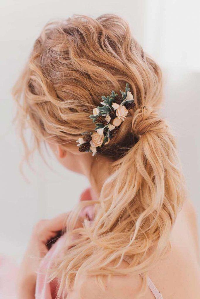 Trendy Ponytail For Stylish Girls, formal ponytails hairstyles, hairstyles for formal event, formal curly hairstyles, hairstyles for formal events, hairstyles for formal wear