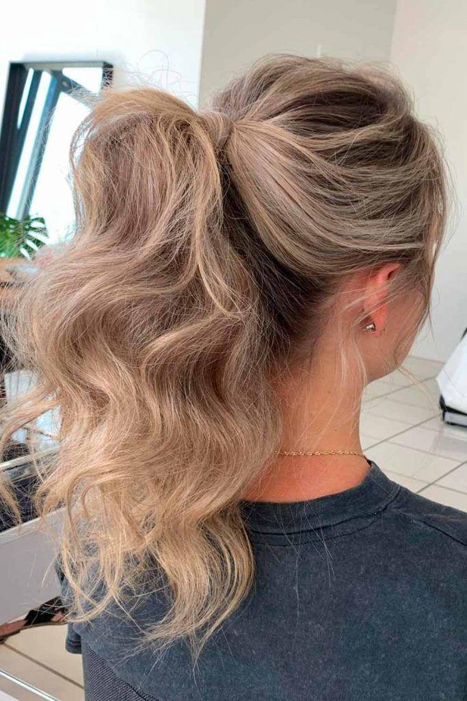 Trendy Ponytail For Stylish Girls, elegant hairstyles, formal hairstyles natural hair, elegant hair styles, elegant hairstyle, easy formal hair