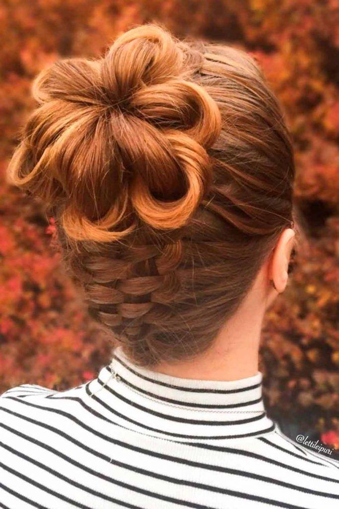 Gorgeous High Bun, elegant bun hairstyles, formal braid hairstyles, hairstyles for formal events, elegant wedding hairstyles