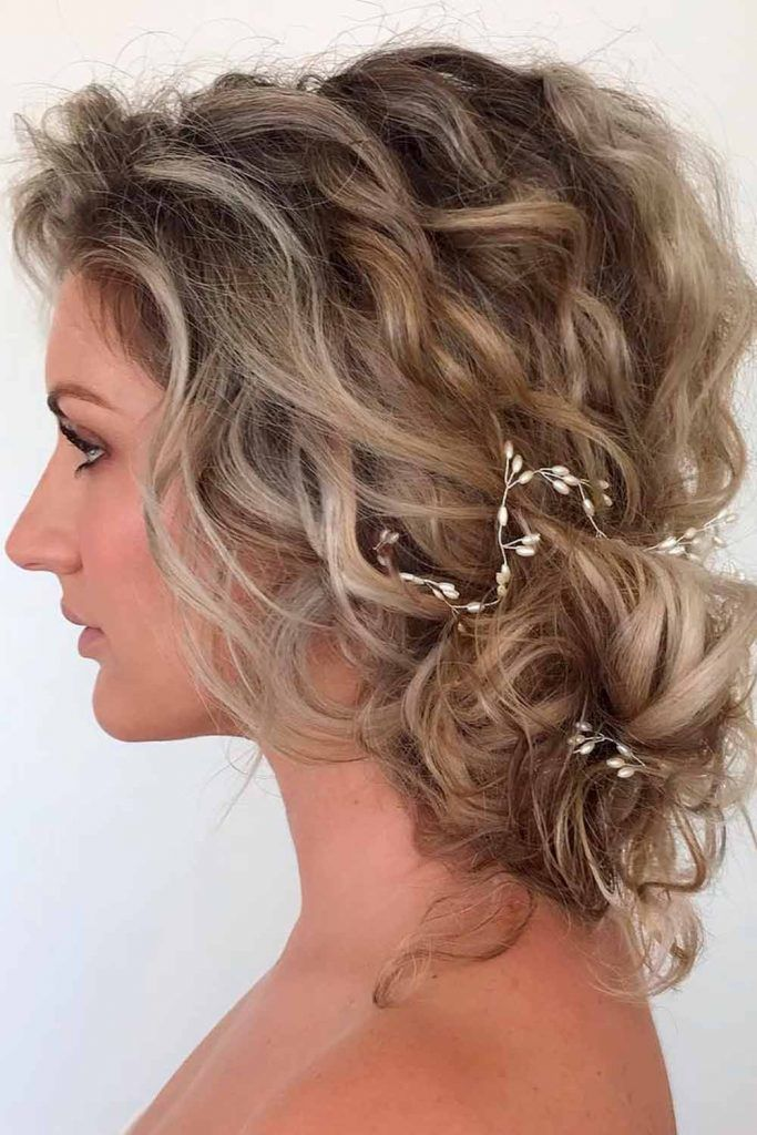 Easy Low Bun For A Stunning Look, formal curls hairstyles, elegant curly hairstyles, easy formal hair, hairstyles for formal events