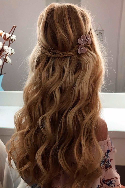 Half Up/Half Down, updos for medium thin hair, casual updos for medium length hair, cute updos for medium length hair