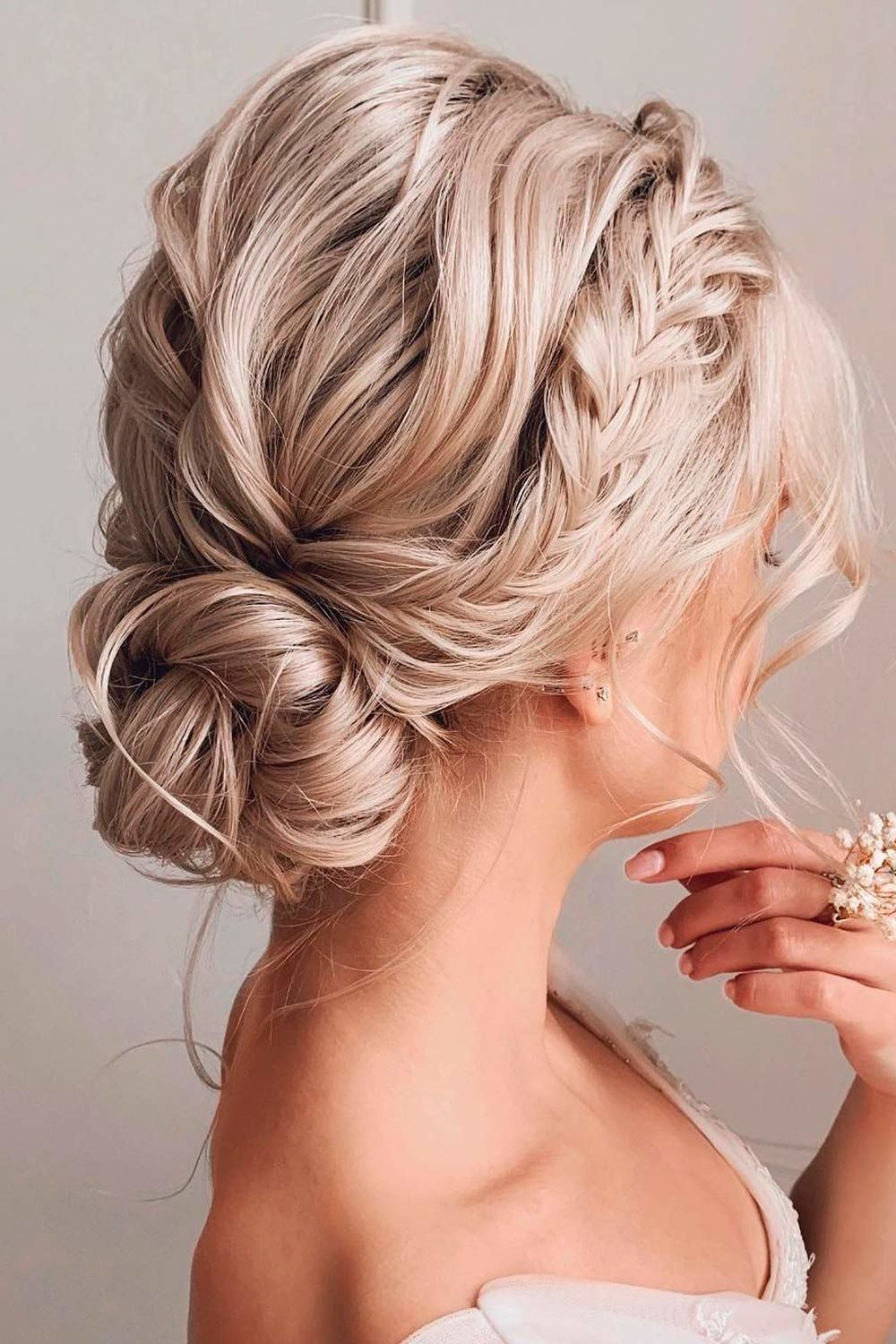 Crown Braided Updos For Medium Hair, updos for medium curly hair, updos for medium length curly hair, updos for medium thin hair