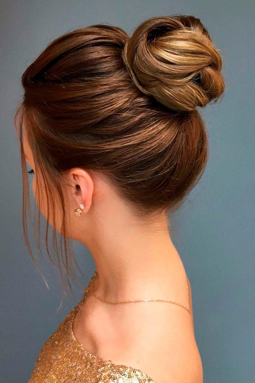 High Buns For Medium Hair