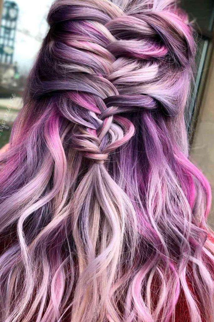 Half-Up Fishtail Braid, fishbone hair, fishbone braid, fish bone braids