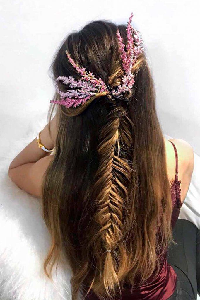 Stretched and Gathered, braids fishbone, bone braids, fishbone hairstyles