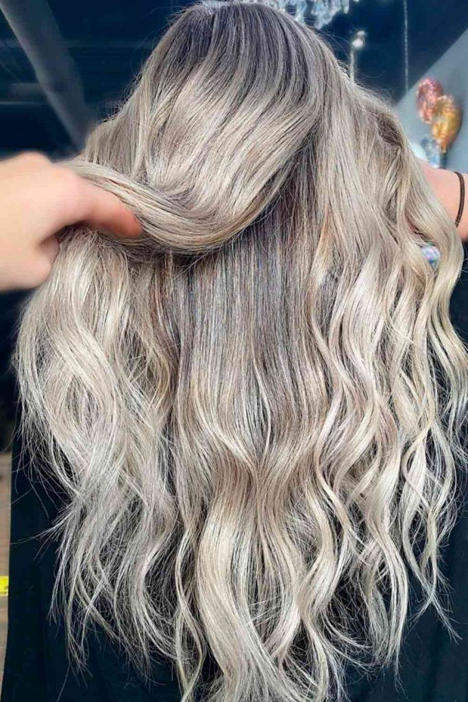 Blonde Highlights For Long Hair, blonde gray highlights, highlights in blonde hair, highlights blonde hair