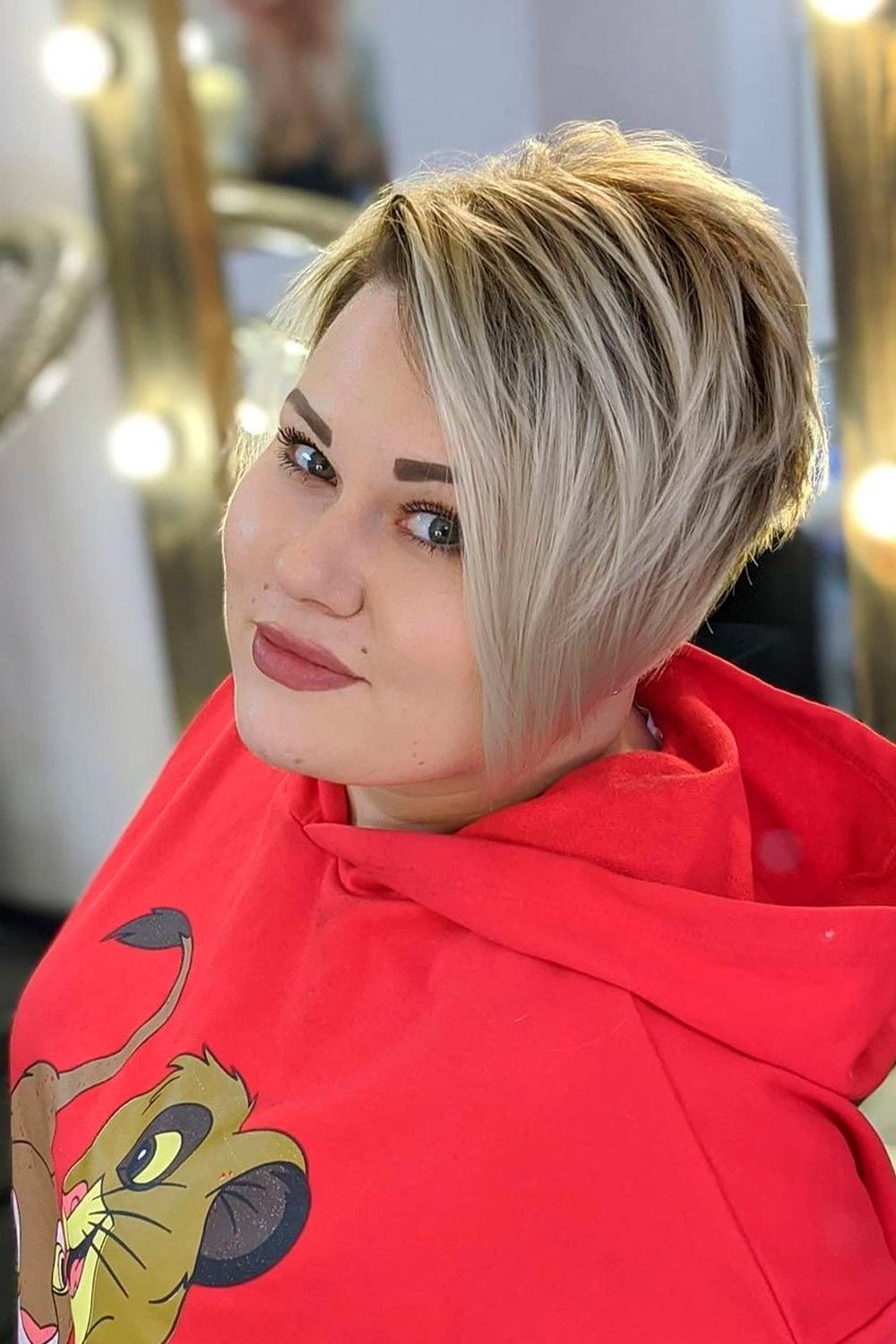Pixie With Long Bang, long haircuts for women over 40, pixie haircuts for women over 40, shoulder length haircuts for women over 40