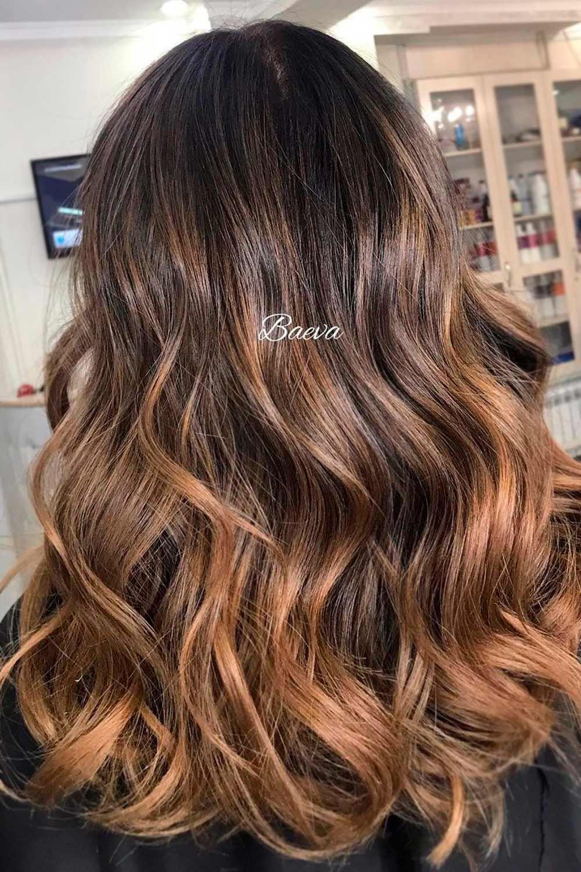 Light Brown Highlights On Chocolate Brown Hair , brunette with blonde highlights, dark hair highlights, brunette with highlights