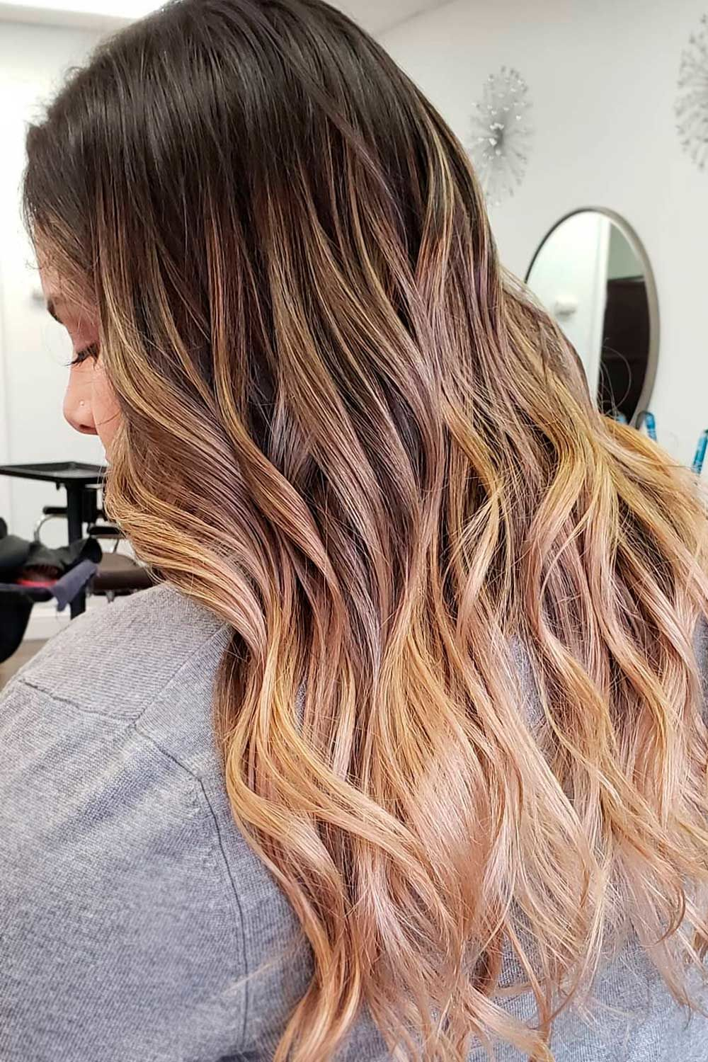 Ombre Honey Brown Hair Color, honey highlights on light brown hair, light brown hair with honey blonde highlights, honey blonde and brown hair, honey light brown hair color