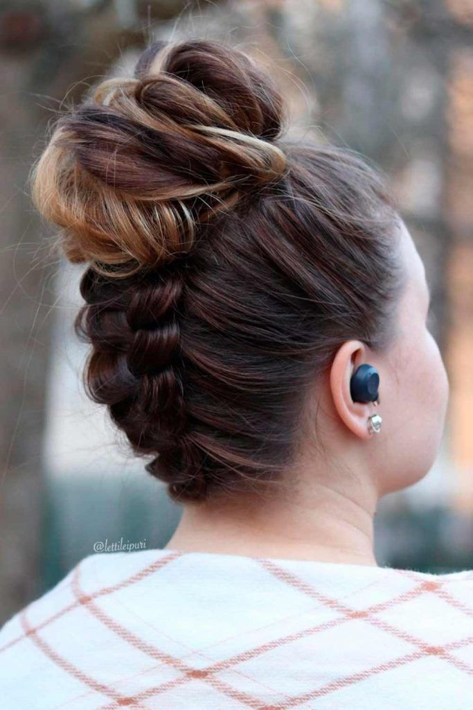 Best Messy Buns Hairstyles for Special Occasion, messy high bun, messy donut bun, messy buns