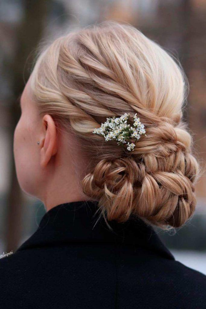 Romantic Messy Buns Hairstyles, messy low bun, messy buns, long hair messy bun