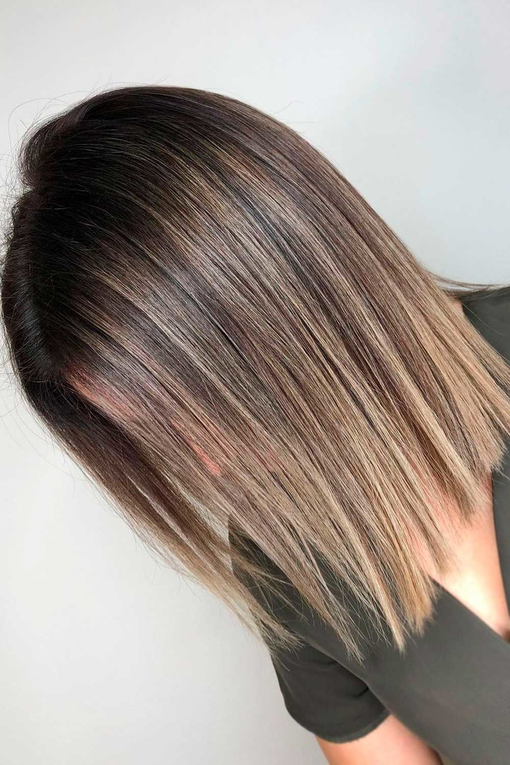 Brown To Wheat Hair, short ombre hair, short hair ombre, ombre with short hair,