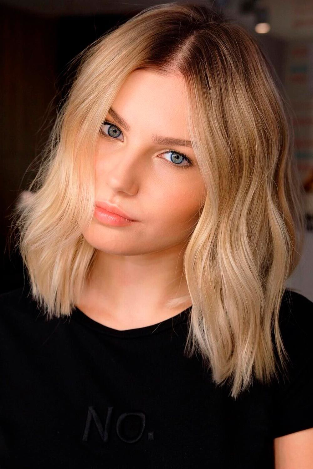 Ombre Short Hair For Natural Look, purple ombre hair short, short grey ombre hair, ombre hairstyles for short hair