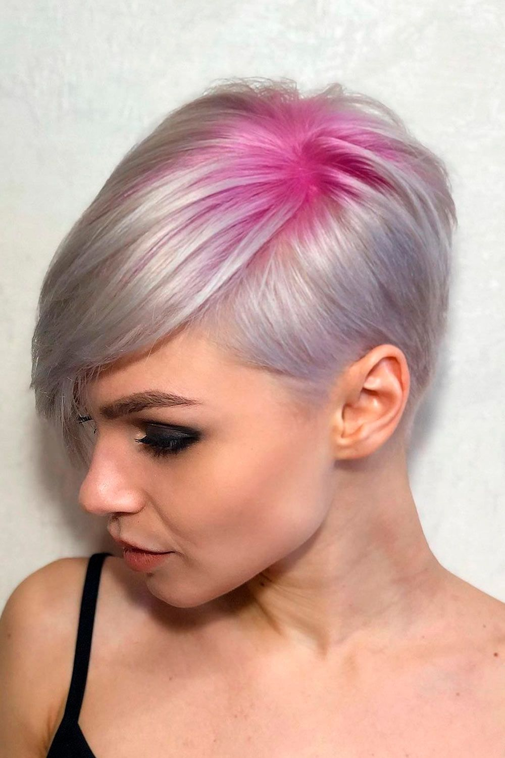 Pink Highlights On Blonde Hair, short hair blonde ombre, ombre on short hair, ombre hair short hair