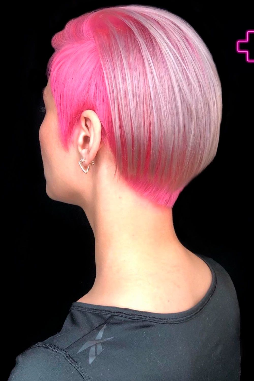 Pink Punk Pixie, ombre on short hair, ombre hair short hair, ombre highlights short hair