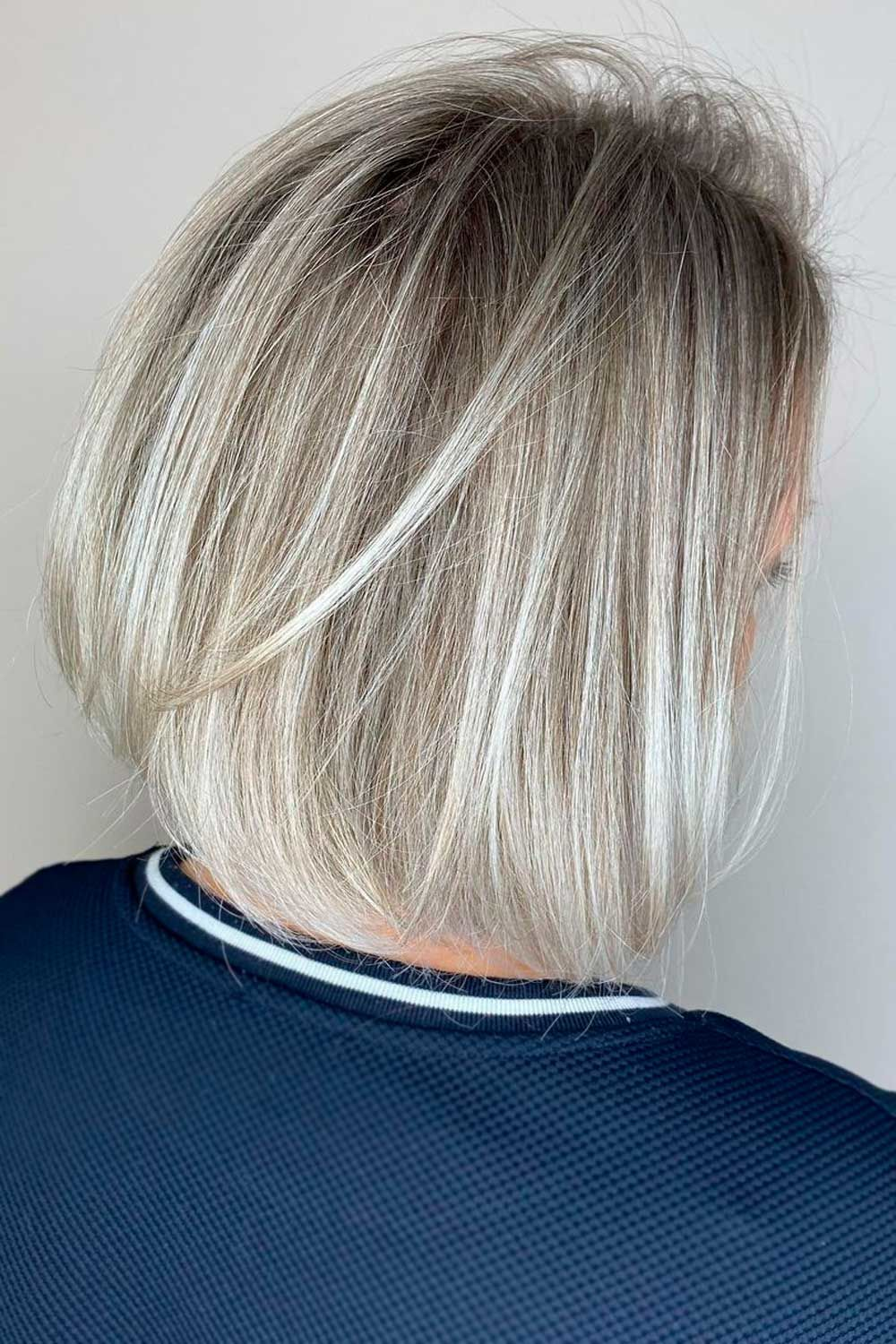 Black & Blonde, short hair ombre color, ombre straight short hair, short hair blonde ombre