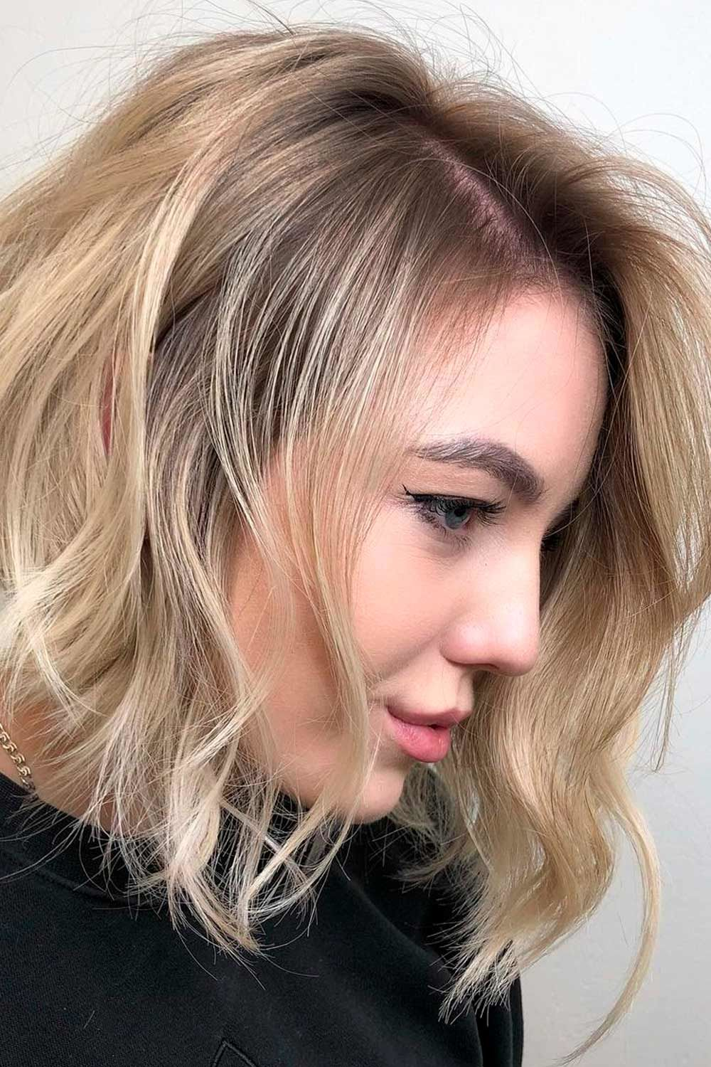 Wheat Blonde Ombre Hair, short ombre hair, short hair ombre, ombre hair short