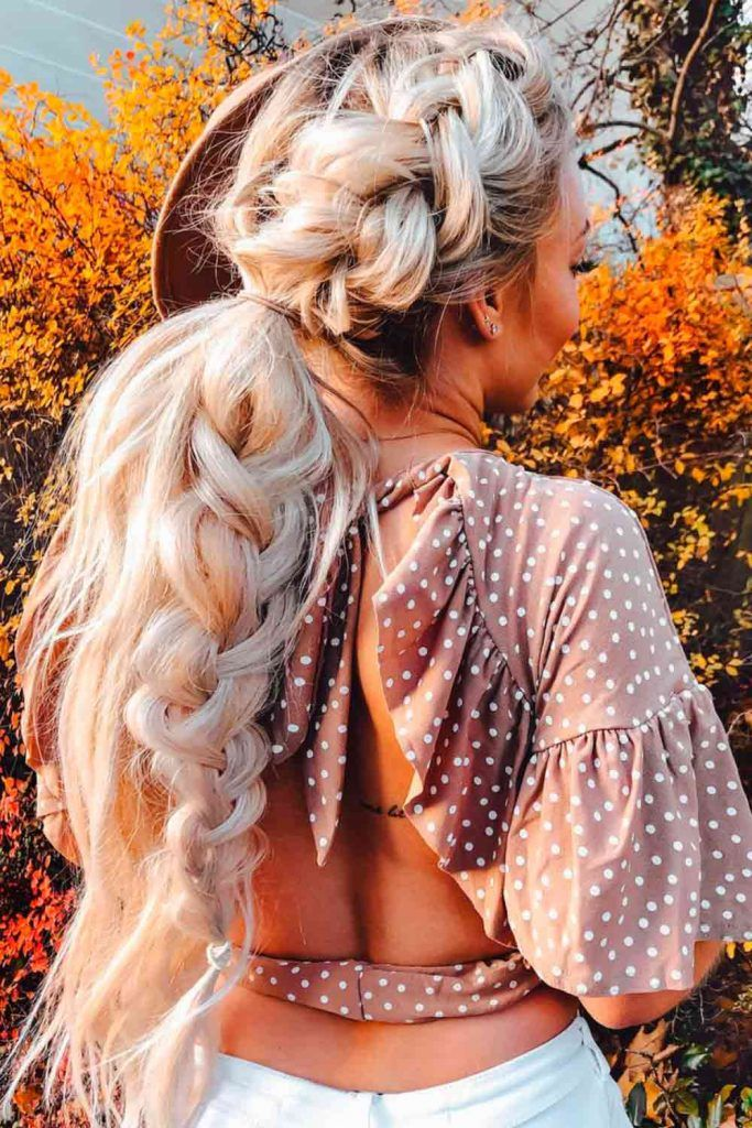 Simple and Beautiful Braided Hairstyles for Special Occasion, hairstyles for a party, hairstyles for evening party, long hairstyles for party