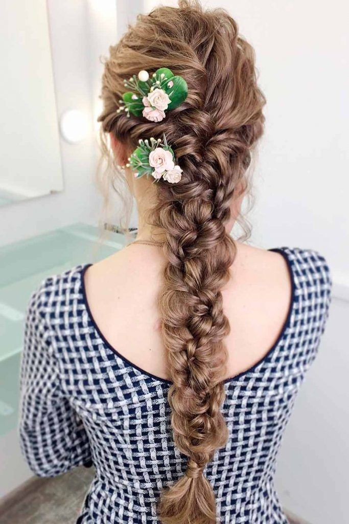 Try These Braids and Look Like a Princess. hairstyles for cocktail party, hairstyles for weddings party, hairstyles for girls for party