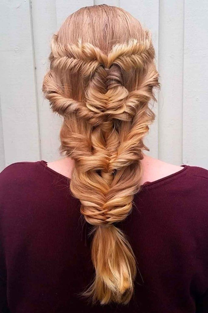 Try These Braids and Look Like a Princess, long hairstyles for party, hairstyles for party long hair, hairstyles for christmas party
