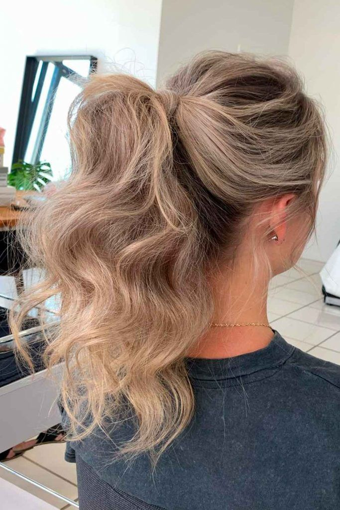 Ponytail Hairstyles – Best Choice for a Party, hairstyles for birthday party, hairstyles for party long hair, hairstyles for evening party