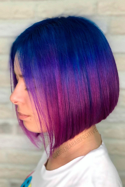 Fuchsia Purple With Blue