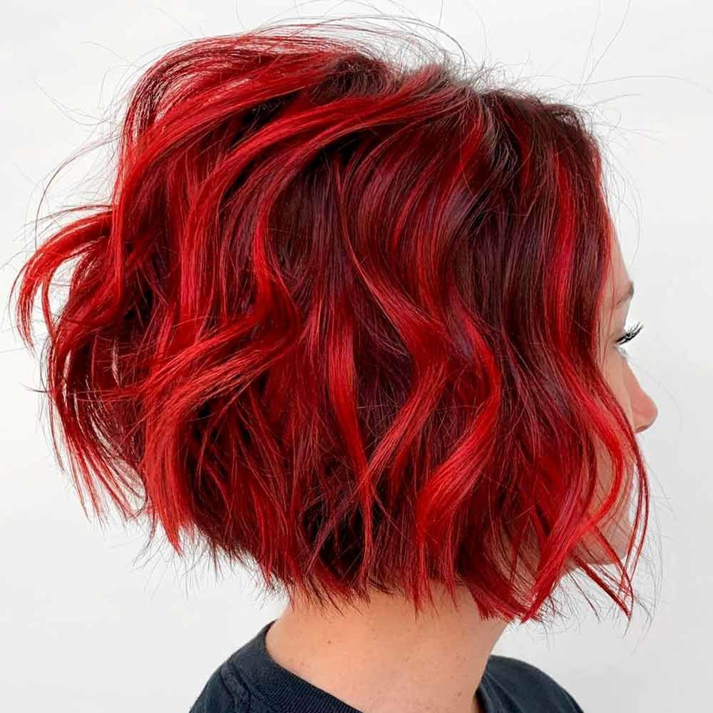 Beautifully Bright, red brown ombre hair, red hair ombre, red hombre