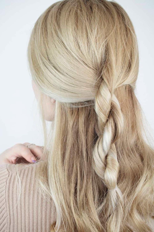 Rope Braid Hairstyle