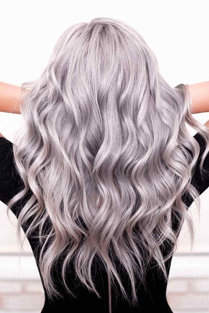How to Get Gorgeous Silver Hair Color, silver blonde hair, silver white hair, silver grey hair, silver gray hair, silver grey hair colours