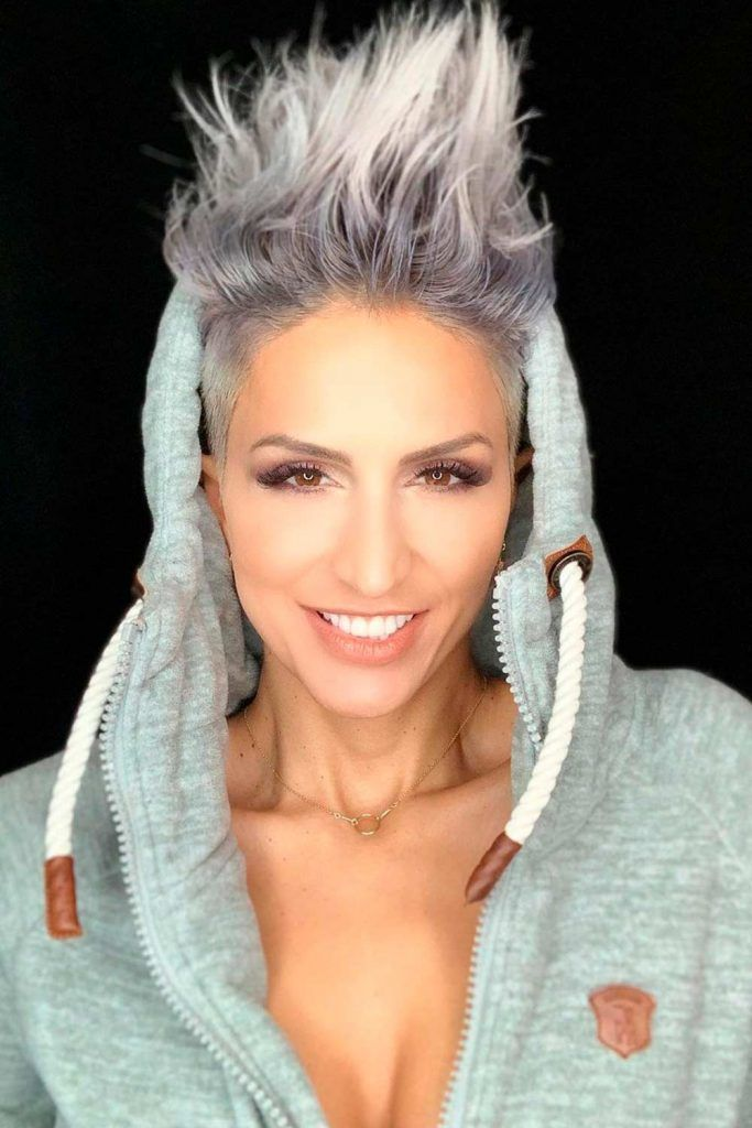 Silver Hair Ombre, silver short hair, silver colored hair, hair silver, silver grey hair color