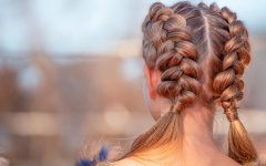 Styling Options For Dutch Braids