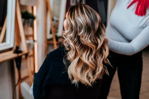 Great Highlighted Hair For Brunettes