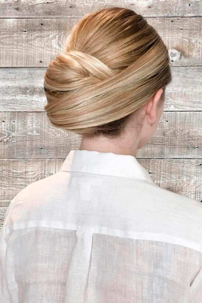 A Sleek Classy Updo With A Jewelry Headband, updos wedding, wedding hairstyle updos for long hair, low updos wedding
