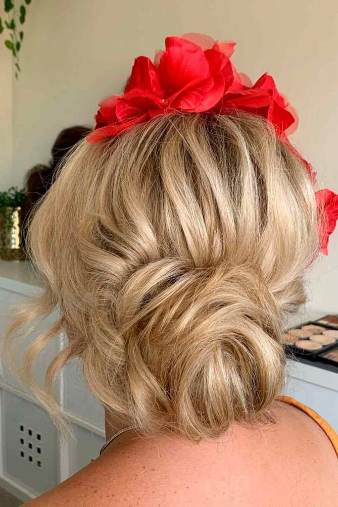 A Classy Low Bun, wedding hairstyle updos for long hair, elegant updos for wedding, wedding hair style updos