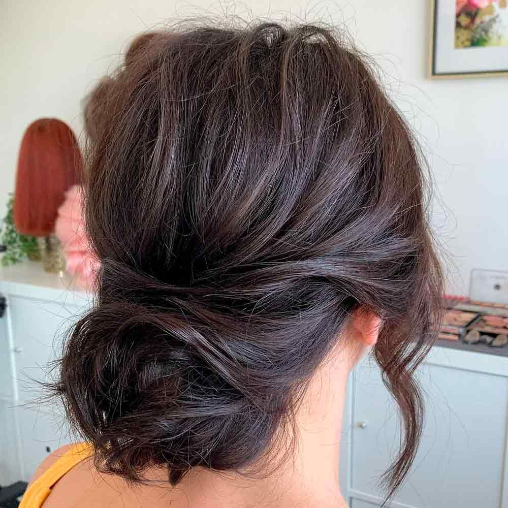 A Stunning Bun Updo, hairstyles updos for wedding, loose updos wedding, updos wedding