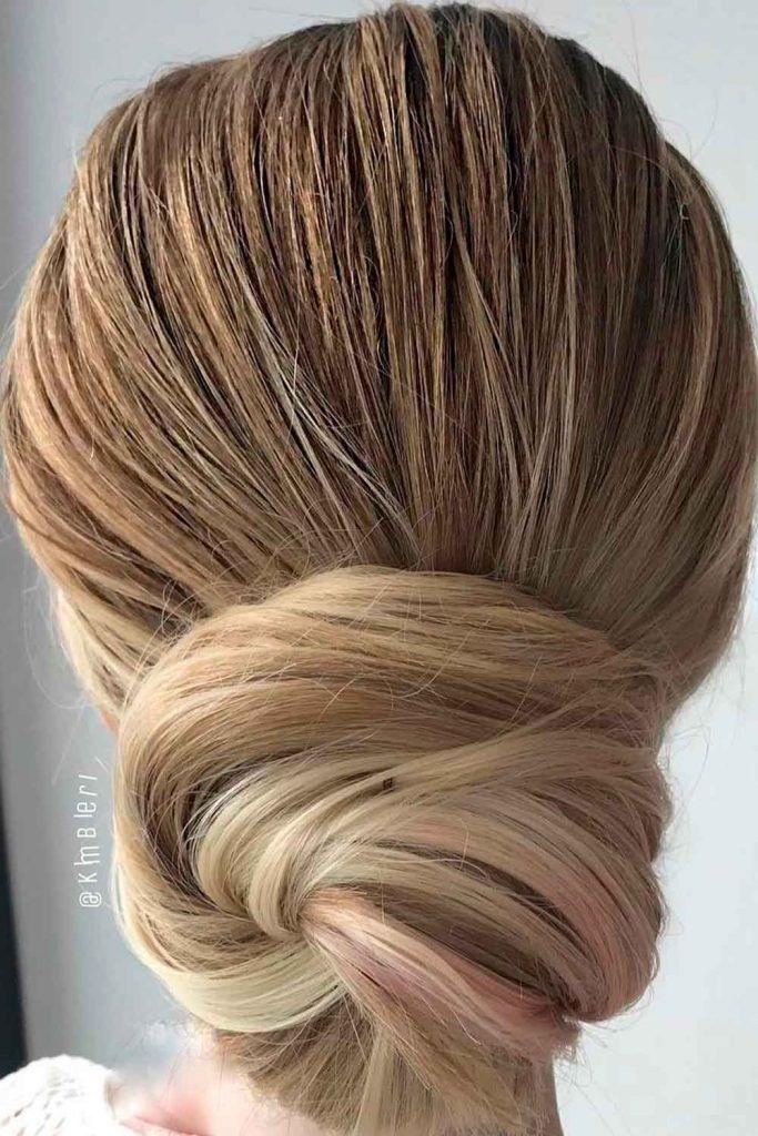 Sleek Low Bun, wedding bun updos, wedding hair style updos, hairstyles updos for wedding