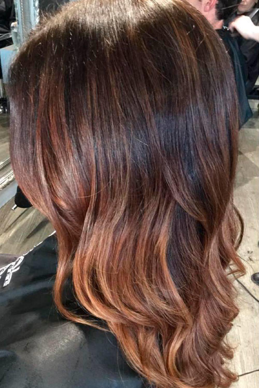 Long Wavy Hairstyle With Bang