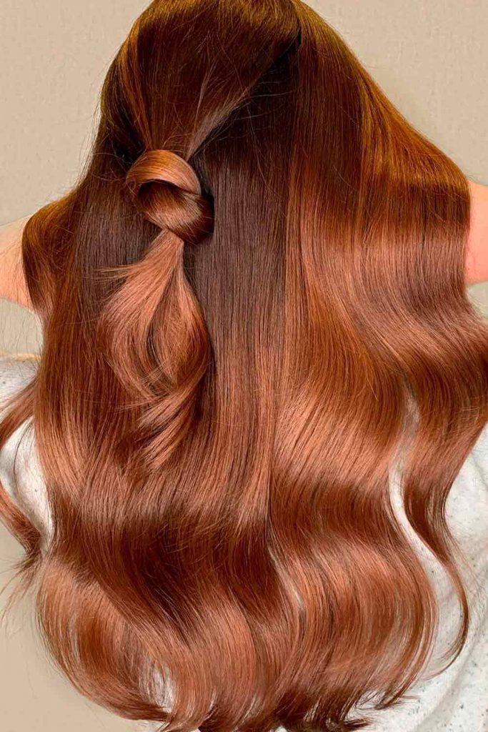 Coppery Brown, brown cooper hair, copper brown hair, copper red hair color, dark copper brown hair