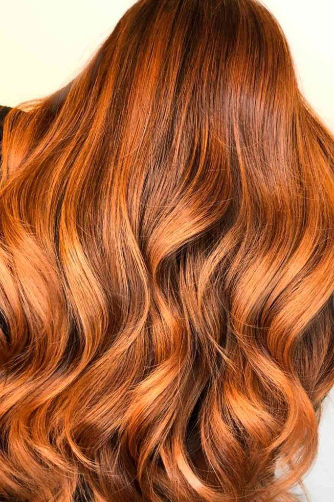 From Brown To Copper Hair, natural copper red hair, red hair with copper highlights, light copper hair color