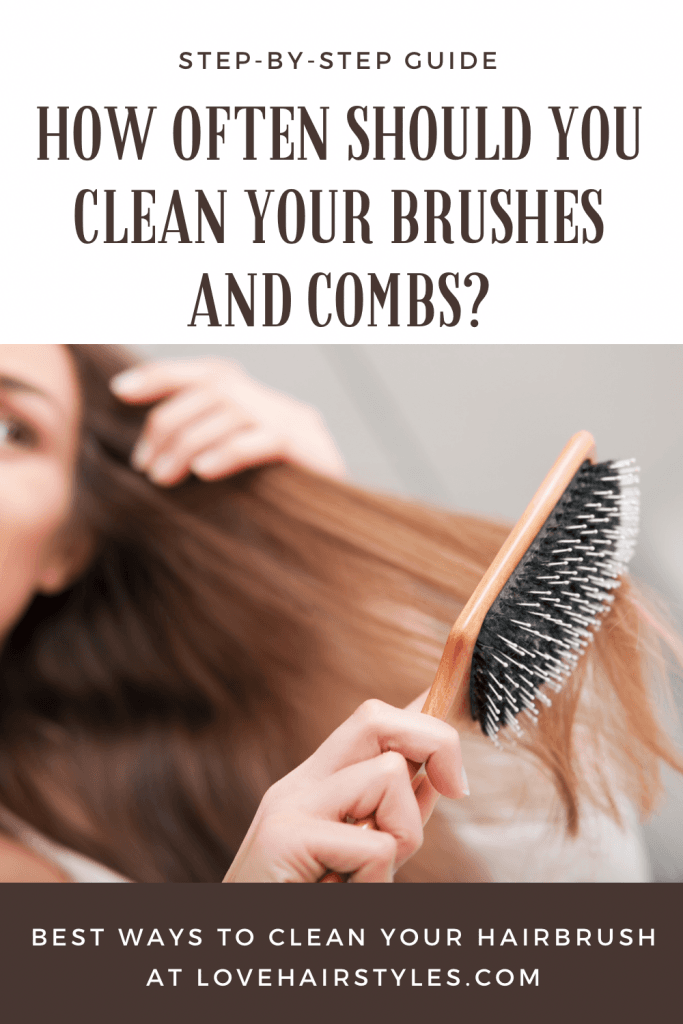 how to clean hair brushes and combs, #lovehairstyles #hairbrush #comb