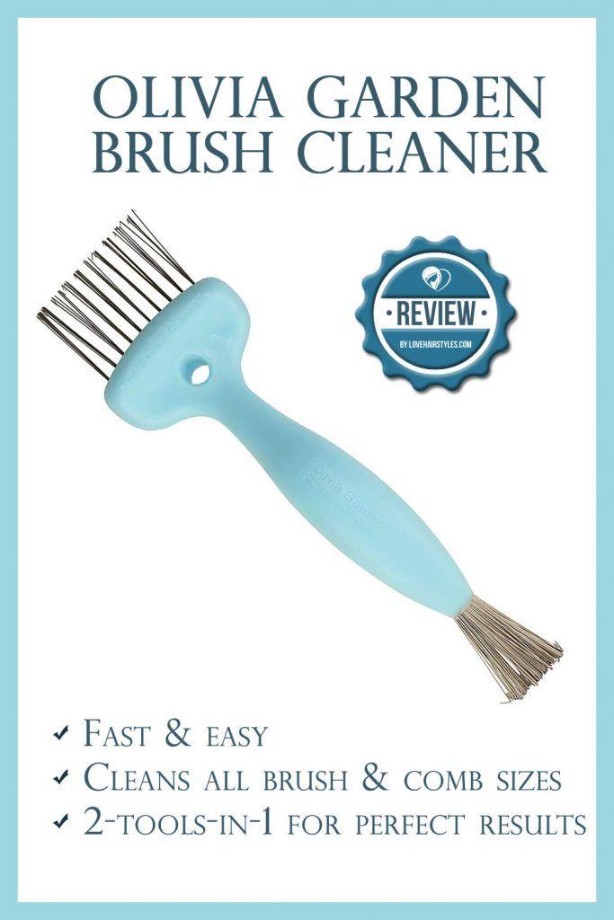 Olivia Garden Brush Cleaner. Pros/Cons