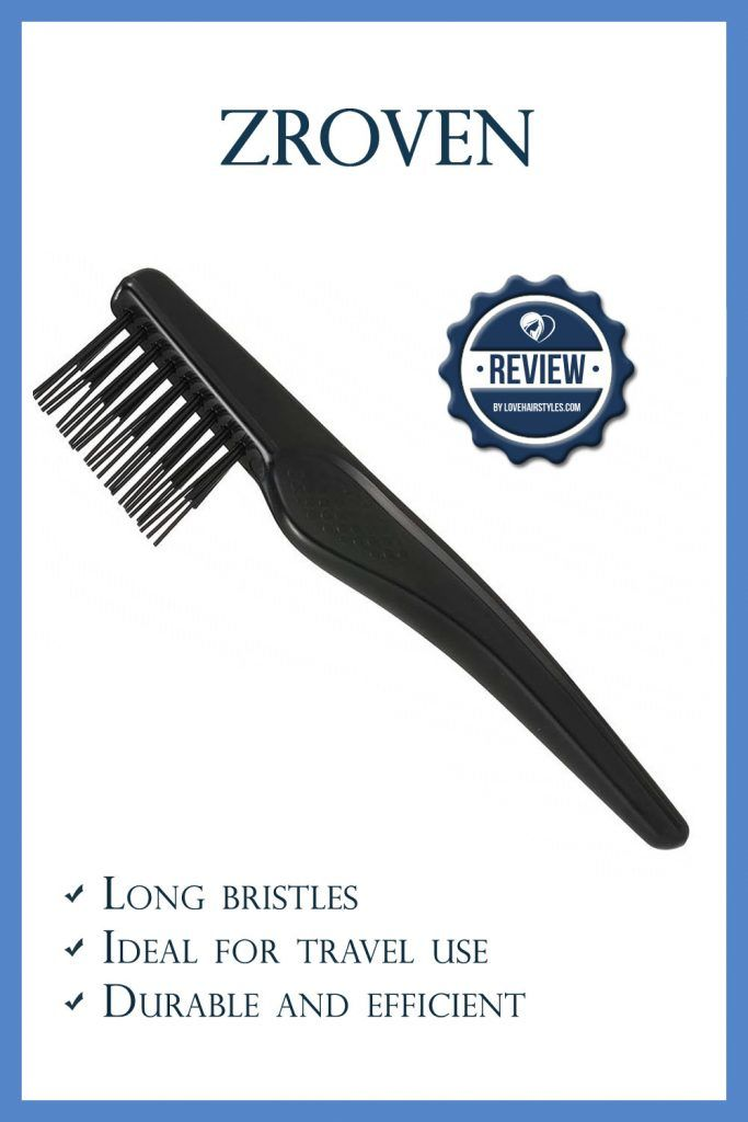 Zroven Plastic Hair Brush Cleaning Tool