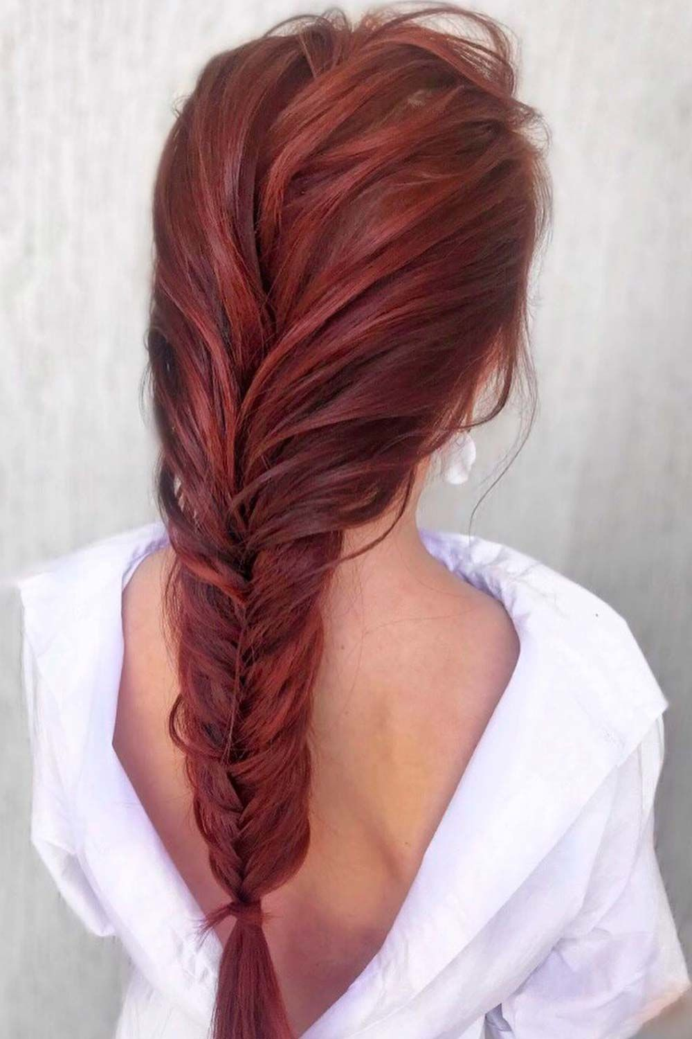 Hairstyles With Fishtail Braid