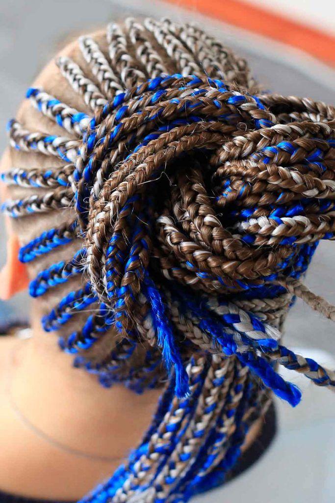 Tiny Cobalt Braids