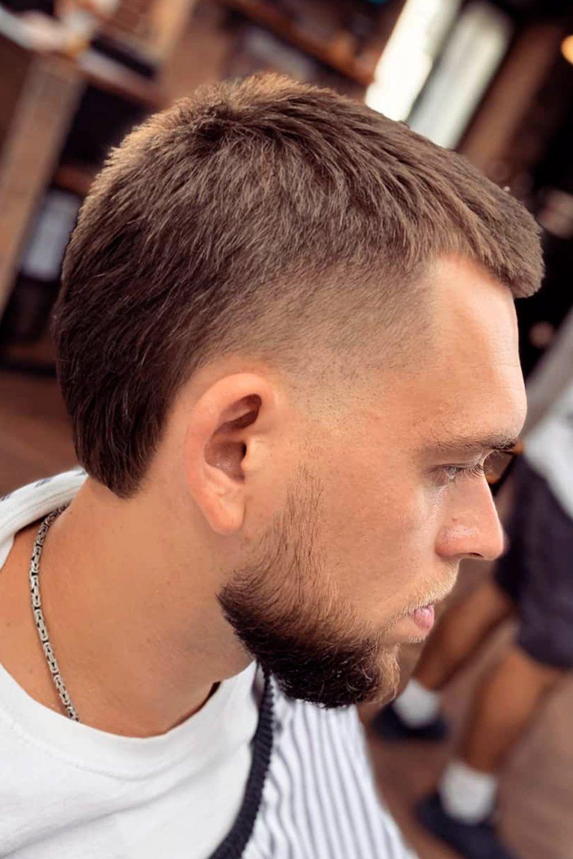 Short Men's Mullet and Beard – Strong Combo